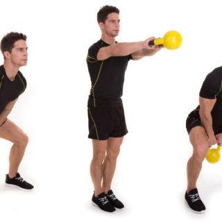 Shoulder Swing Step Exercise