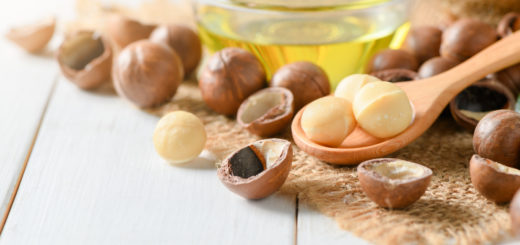 Uses for macadamia nut oil