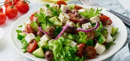 low salt diet salad